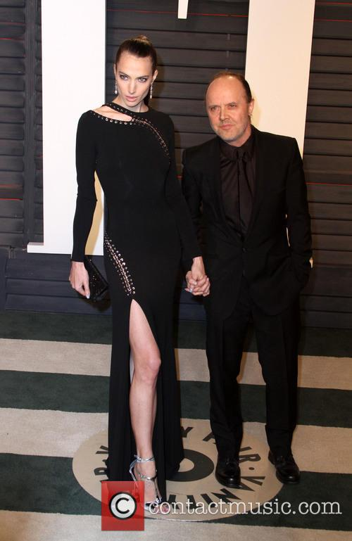 Jessica Miller and Lars Ulrich 1