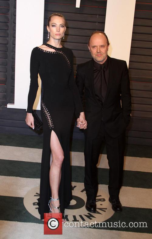 Jessica Miller and Lars Ulrich 2