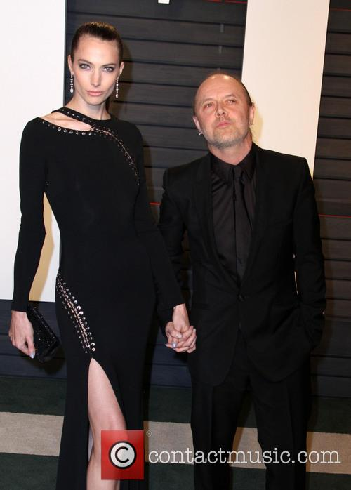 Jessica Miller and Lars Ulrich 3