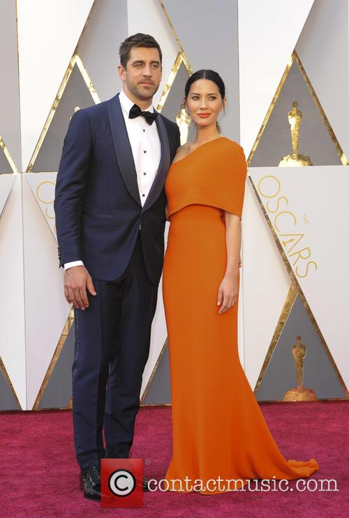 Aaron Rodgers and Olivia Munn 1