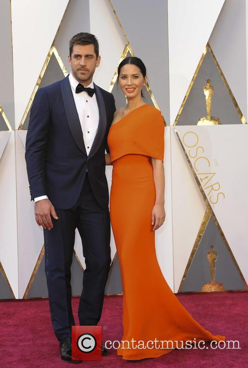 Aaron Rodgers and Olivia Munn 2