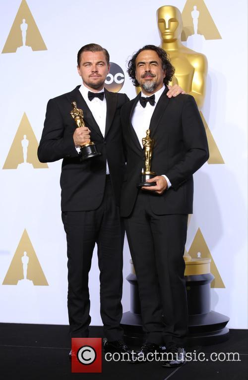 Leonardo Dicaprio and Alejandro G. Iñárritu 4
