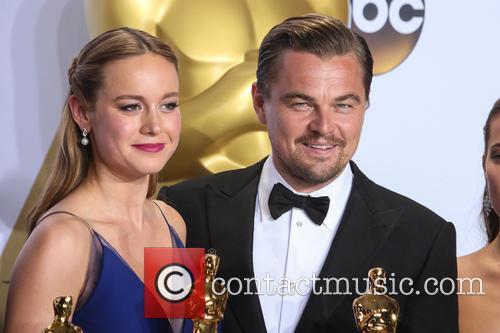 Brie Larson and Leonardo Dicaprio 5