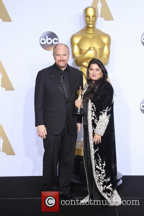 Sharmeen Obaid-chinoy and Louis C.k. 1