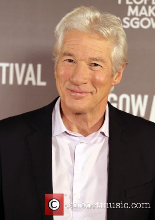 Richard Gere Swaps Hollywood For Glasgow As He Appears At Red Carpet Premiere