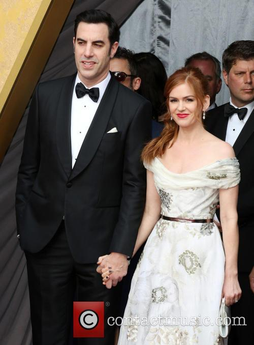 Sacha Baron Cohen and Isla Fisher 2