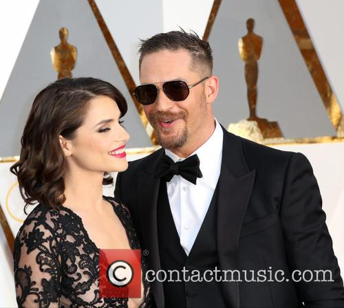 Tom Hardy and Charlotte Riley 1