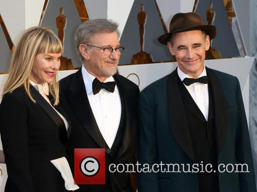 Kate Capshaw, Steven Spielberg and Mark Rylance 1