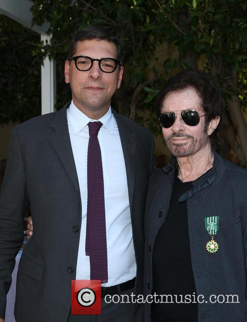 Consul General Of France, Christophe Lemoine and George Chakiris 3