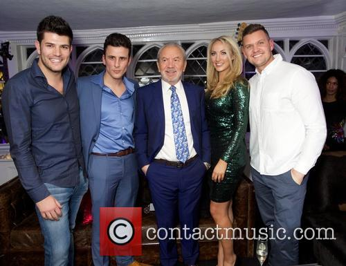 Leah Totton, Mark Wright and Lord Alan Sugar 2