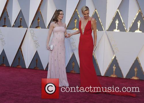 Emily Blunt and Charlize Theron 2