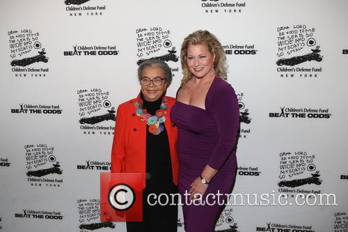 Marian Wright Edelman and Emme Aronson 1