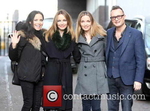 The Corrs, Andrea Coor, Sharon Coor, Caroline Coor and Jim Coor 3