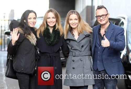 The Corrs, Andrea Coor, Sharon Coor, Caroline Coor and Jim Coor 4