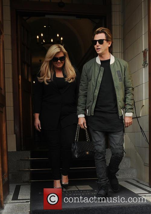 Gemma Collins and Jonathan Cheban 1