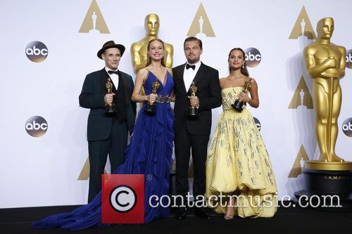 Mark Rylance, Brie Larson, Leonardo Dicaprio and Alicia Vikander 4
