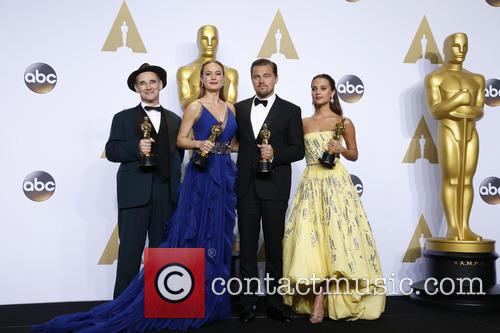 Mark Rylance, Brie Larson, Leonardo Dicaprio and Alicia Vikander 6