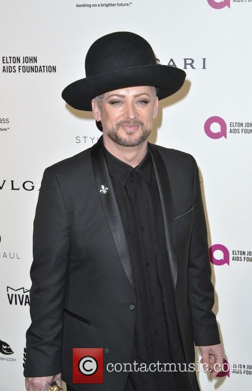 'The Voice' Judge Boy George Is 'In Love' With Simon Cowell