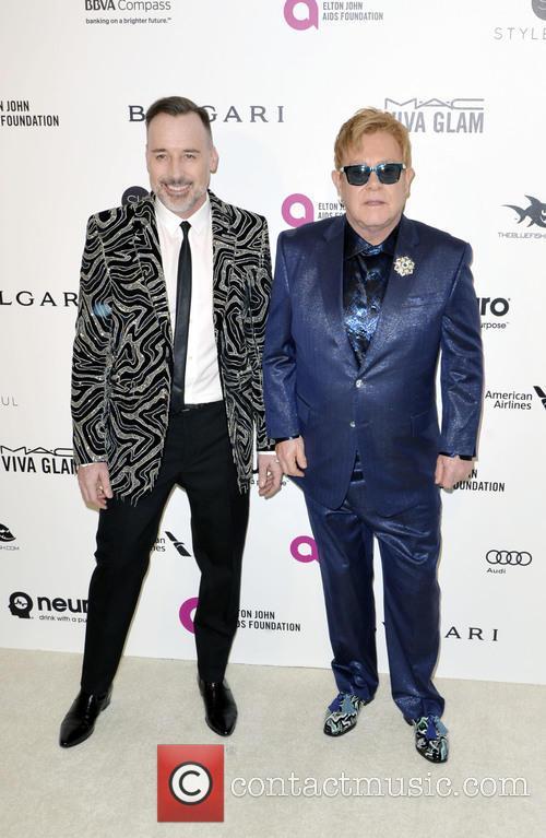 David Furnish and Elton John 1