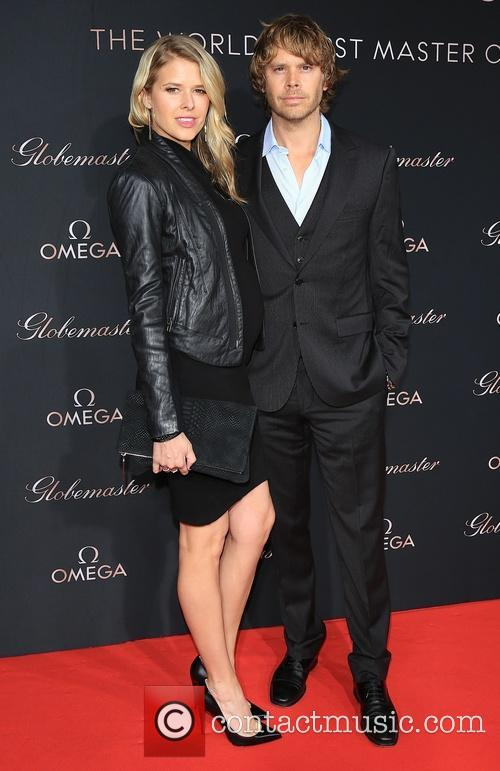 Sarah Wright and Eric Christian Olsen