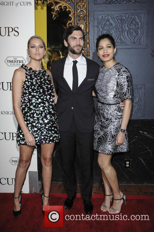Teresa Palmer, Wes Bentley and Freida Pinto