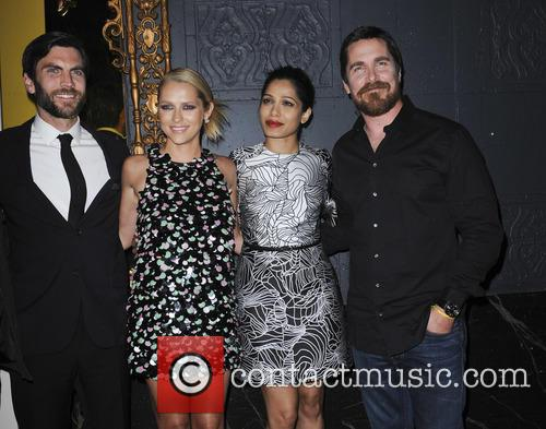 Wes Bentley, Teresa Palmer, Freida Pinto and Christian Bale 10