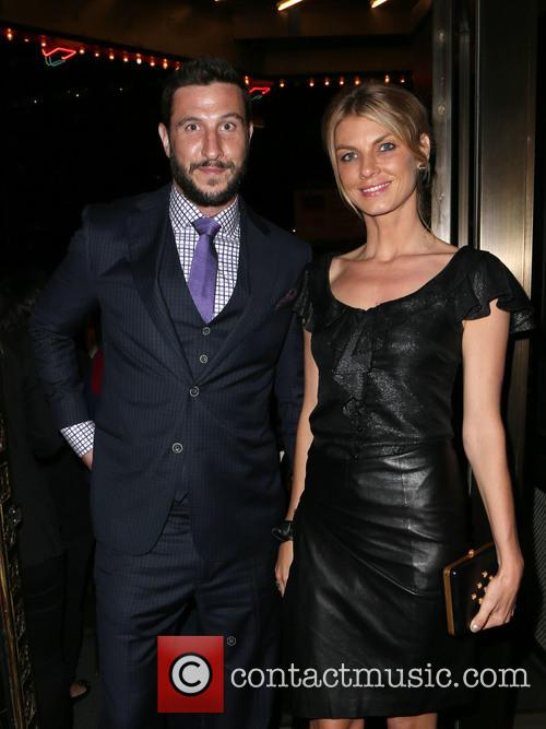 Pablo Schreiber and Angela Lindvall 5