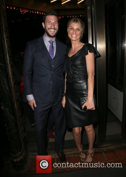 Pablo Schreiber and Angela Lindvall
