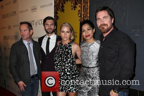 Thomas Lennon, Wes Bentley, Teresa Palmer, Freida Pinto and Christian Bale 4