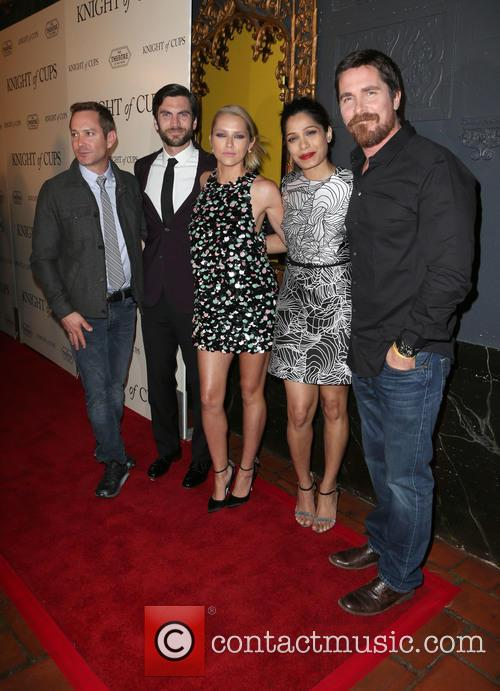 Thomas Lennon, Wes Bentley, Teresa Palmer, Freida Pinto and Christian Bale 5