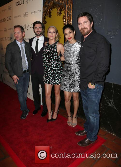 Thomas Lennon, Wes Bentley, Teresa Palmer, Freida Pinto and Christian Bale 6
