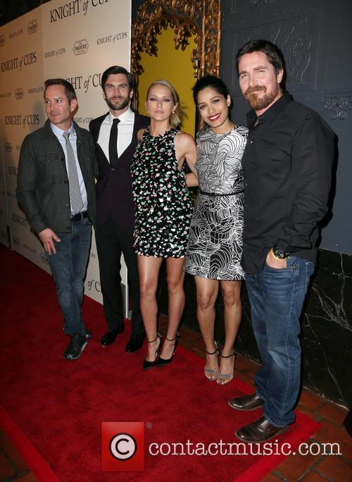 Thomas Lennon, Wes Bentley, Teresa Palmer, Freida Pinto and Christian Bale 7