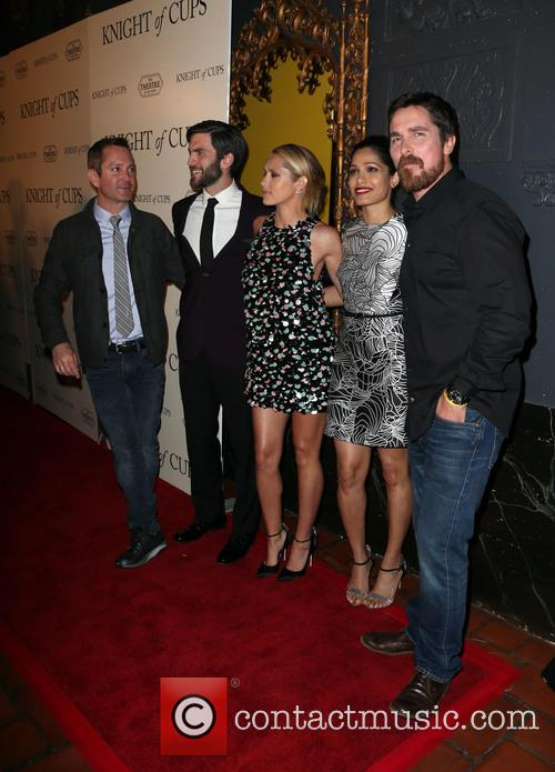 Thomas Lennon, Wes Bentley, Teresa Palmer, Freida Pinto and Christian Bale 9