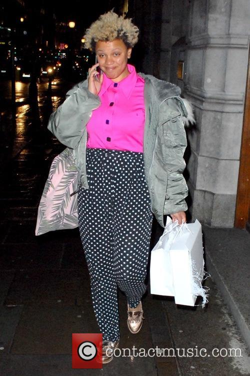 BBC Radio DJ Gemma Cairney outside the studios