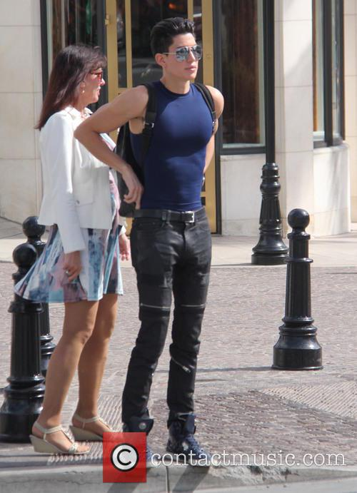 Justin Jedlica out in Beverly Hills