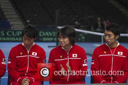 Kei Nishikori, Taro Daniel and Yasutaka Uchiyama 1
