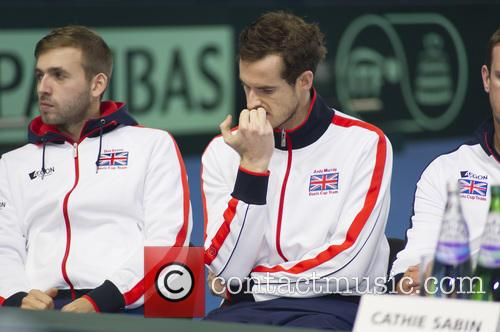 Dan Evans and Andy Murray 5