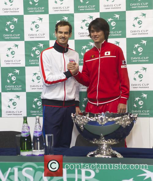 Andy Murray and Kei Nishikori 11