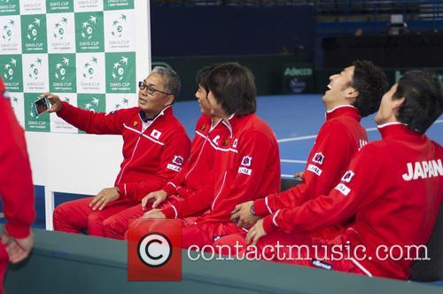 Minoru Ueda, Kei Nishikori, Taro Daniel, Yasutaka Uchiyama and Yoshihito Nishioka 1
