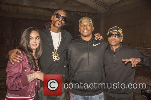 Snoop Lion, Snoop Dogg, Raven Felix, Deon Taylor and Nef The Pharoah 9