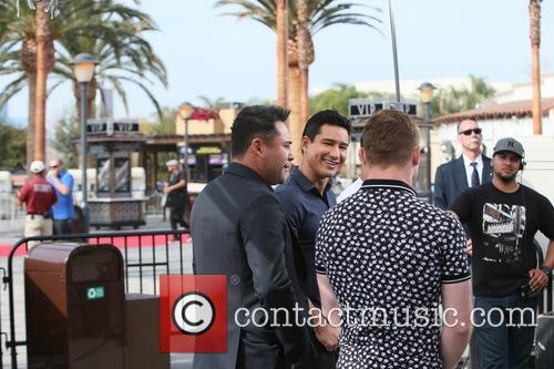 Mario Lopez, Oscar De La Hoya and Canelo Alvarez 1