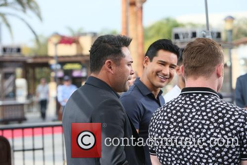 Mario Lopez, Oscar De La Hoya and Canelo Alvarez 2