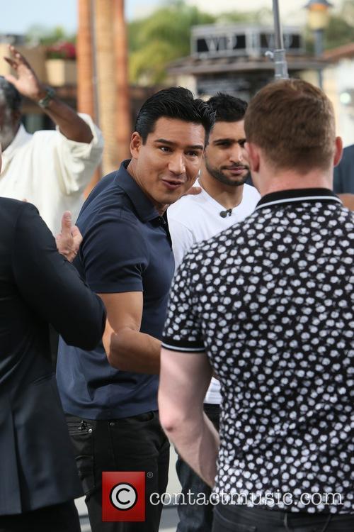 Amir Kahn, Mario Lopez and Canelo Alvarez 10