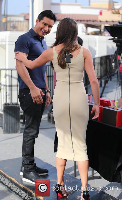 Lea Michele and Mario Lopez 8