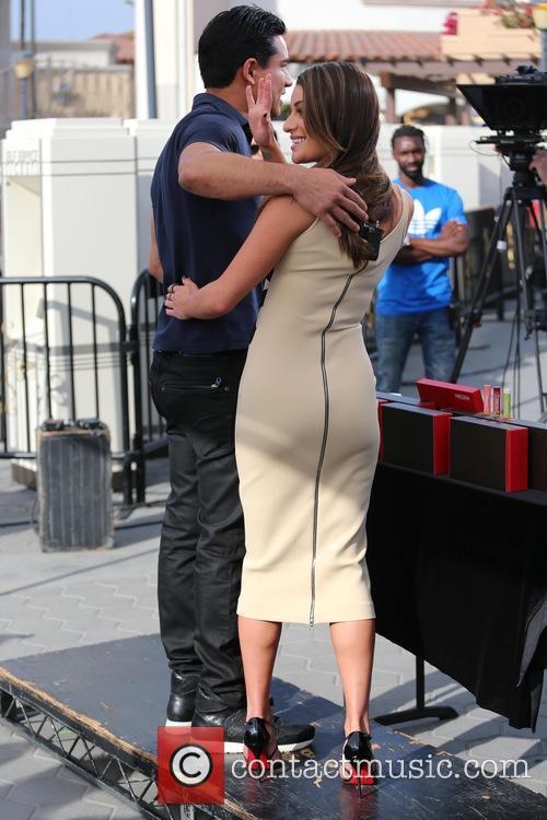 Lea Michele and Mario Lopez 9