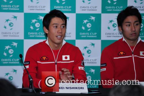 Kei Nishikori and Yasutaka Uchiyama 1