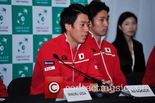 Kei Nishikori and Yasutaka Uchiyama 3