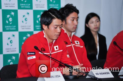 Kei Nishikori and Yasutaka Uchiyama 4