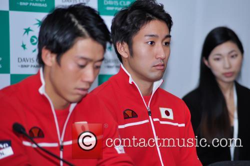 Kei Nishikori and Yasutaka Uchiyama 5