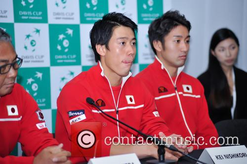 Kei Nishikori and Yasutaka Uchiyama 6